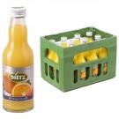Dietz Orangensaft 12x0,2l Kasten Glas